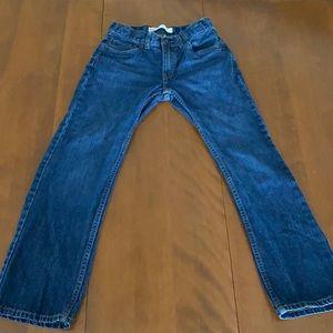 Levi's boys 505 regular size 12 jeans